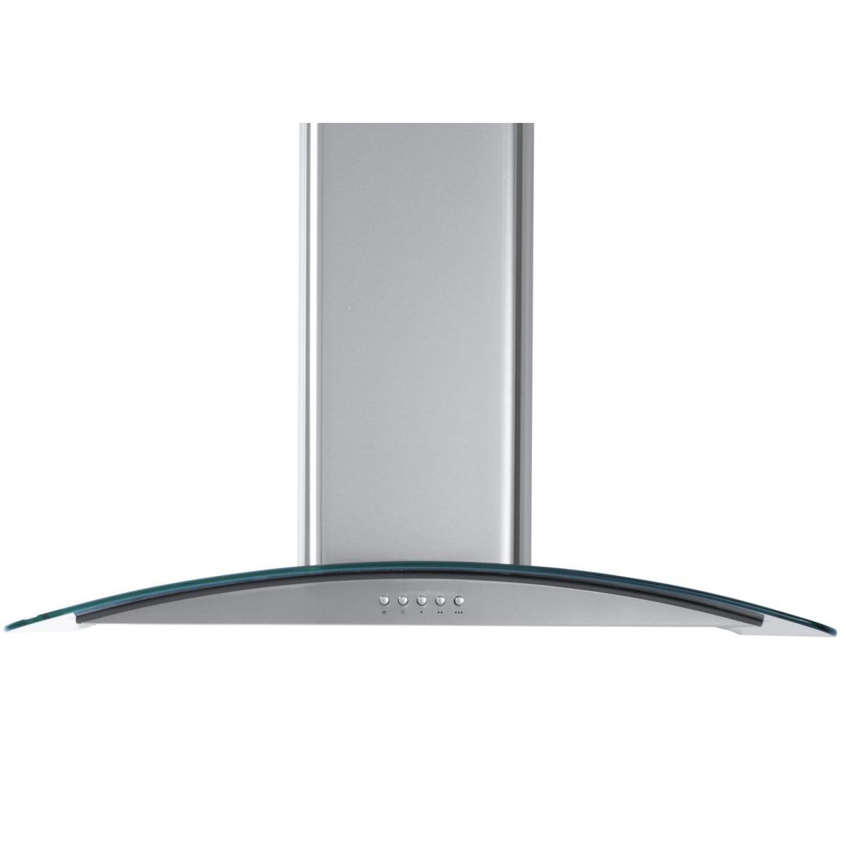 Cooker Hood With A Window ~ Myappliances ref cm curved glass chimney cooker