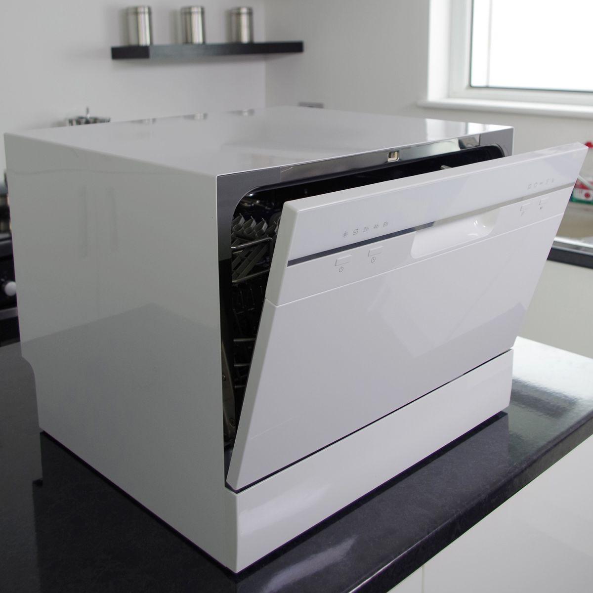 myappliances ref28008 freestanding table top 6 place. Black Bedroom Furniture Sets. Home Design Ideas
