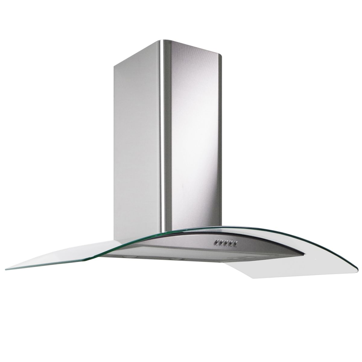 Window Next To Chimney Hood ~ Myappliances ref cm stainless steel curved glass